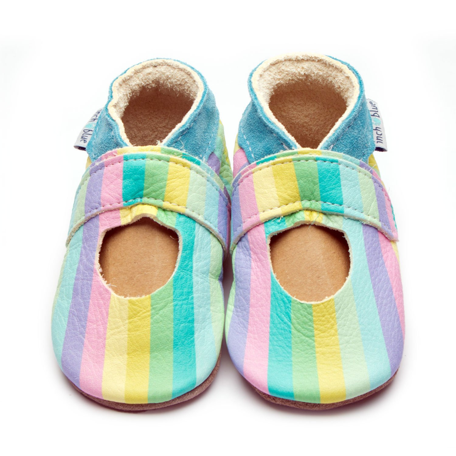 Mary Jane Stripes Pastel Rainbow