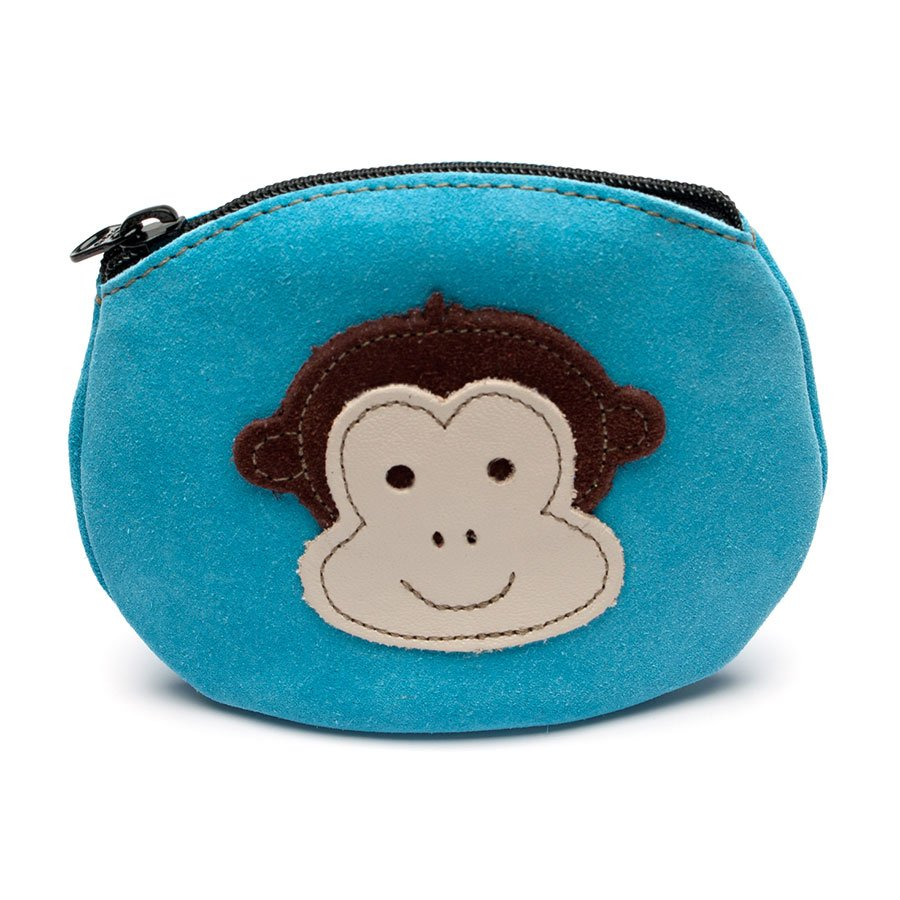 Cheeky Monkey Blue Purse